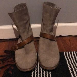 Coach Amy Suede Booties